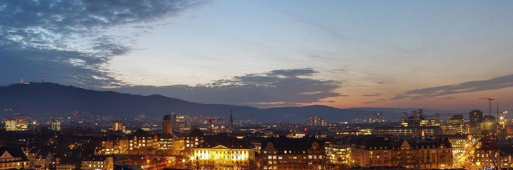 Header image Zürich cityscape